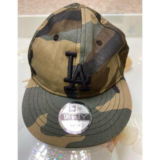 ニューエラー(NEW ERA)のNEW ERA CAP ニューエラキャップ マイファーストサイズ カモフラ(帽子)