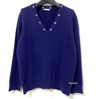 バレンシアガ(Balenciaga)の国内正規品 極美品 バレンシアガ ニット レディース デザイン Vネック 38(ニット/セーター)
