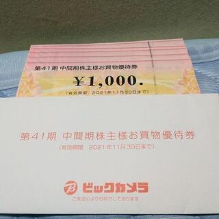 ビックカメラ 株主優待券5000円分 ラクマパック(ショッピング)