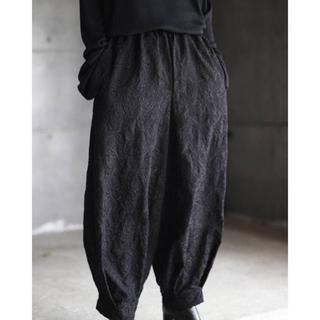 Yohji Yamamoto - kujaku 18ss 道化師パンツver.embroidery