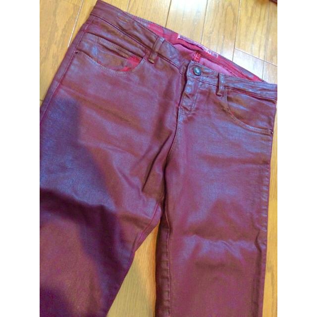 ZARA(ザラ)の美品ZARA ファスナー付スキニーパンツ skinny レディースのパンツ(スキニーパンツ)の商品写真