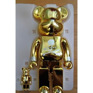 メディコムトイ(MEDICOM TOY)のBE@RBRICK mastermind JAPAN GOLD 100%400%(その他)