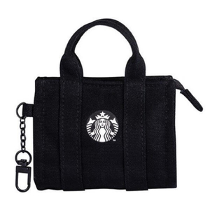 Starbucks Coffee - 週末までお値下げ スターバックス 日本未発売 サイレン 黒 バッグキーホルダー