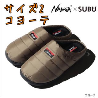 NANGA ×SUBU AURORA SANDAL COYOTE  コヨーテ
