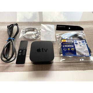 アップル(Apple)の【新品HDMIケーブル付き】Apple TV A1625  32GB(その他)