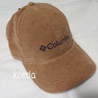 Columbia - Columbia コロンビア キャップ 新品 ブラウン コーデュロイ ワンサイズ