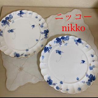 ニッコー(NIKKO)の未使用 ニッコー アンブロシア ボーンチャイナ プレート ディナー皿 2枚(食器)