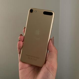 アイポッドタッチ(iPod touch)のiPod touch 第6世代 ゴールド 32GB(ポータブルプレーヤー)