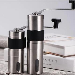 新品 コーヒーミル Lサイズ グラインダー アウトドア(調理器具)