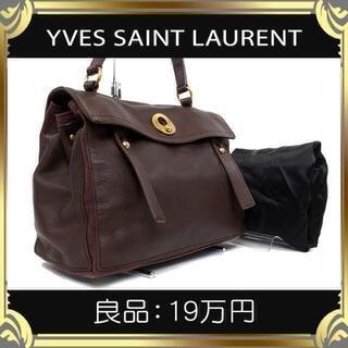 イヴサンローランボーテ(Yves Saint Laurent Beaute)の【真贋査定済・送料無料】イヴサンローランのハンドバッグ・正規品・ミューズトゥ M(ハンドバッグ)
