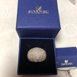 SWAROVSKI - ⭐︎スワロフスキー ストーンリング サイズ55 クリスタル 美品