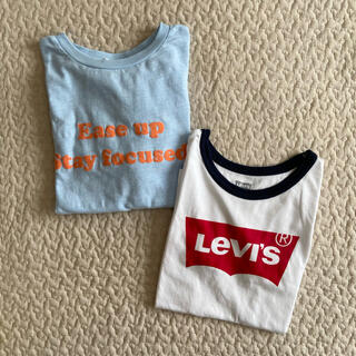 ローリーズファーム(LOWRYS FARM)の1980➜1880 2点セット リーバイス × ローリーズファーム Tシャツ(Tシャツ/カットソー)