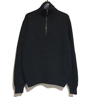 Jil Sander - ジルサンダー 長袖セーター サイズ38 M 黒