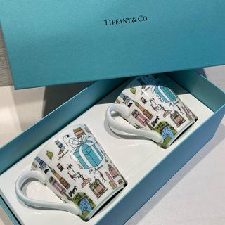 新品 ティファニー 5th アベニュー マグ ペア マグカップ コーヒーカップ