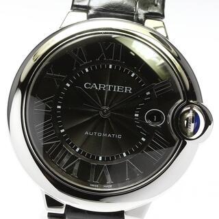 カルティエ(Cartier)の☆美品 カルティエ バロンブルーLM WSBB0003 メンズ 【中古】(腕時計(アナログ))
