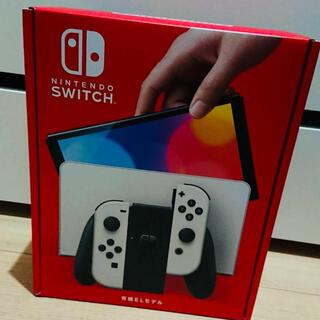 ニンテンドースイッチ(Nintendo Switch)の新品Nintendo Switch 有機EL ホワイトニンテンドースイッチ(家庭用ゲーム機本体)
