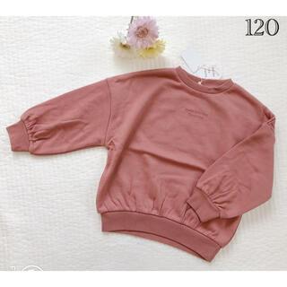 サニーランドスケープ(SunnyLandscape)の新品♡アプレレクール バルーントレーナー ピンク(Tシャツ/カットソー)