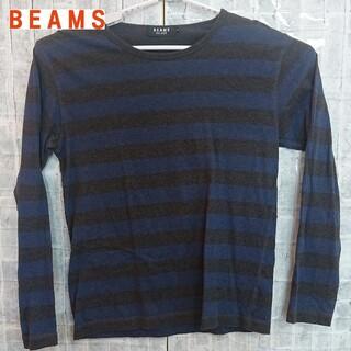 ビームス(BEAMS)の【古着】BEAMSTシャツ(Tシャツ/カットソー(七分/長袖))