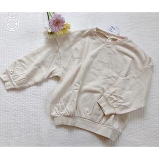 サニーランドスケープ(SunnyLandscape)の新品♡アプレレクール バルーントレーナー アイボリー(Tシャツ/カットソー)