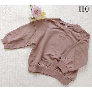 サニーランドスケープ(SunnyLandscape)の新品♡アプレレクール バルーントレーナー ブラウン(Tシャツ/カットソー)