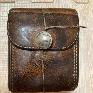 ゴローズ(goro's)のgoro''s ゴローズ レザーウォレット 二つ折り財布 サドルレザー(折り財布)