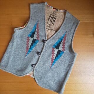 フィス(FITH)のFITH ネイティブ ベスト 160(Tシャツ/カットソー)