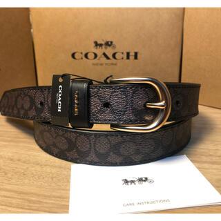 コーチ(COACH)の10/13日限定価格 COACHコーチ正規品レディーズレーザーベルト 幅25mm(ベルト)