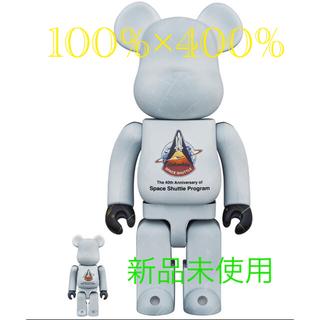 メディコムトイ(MEDICOM TOY)の【新品】Bearbrick SPACE SHUTTLE 100% & 400%(その他)