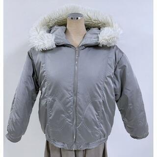 クリスチャンディオール(Christian Dior)のクリスチャンディオール 中綿入り フード付き ジャケット 12A(ミリタリージャケット)