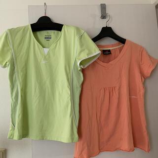 New Balance - ニューバランス リーボック レディース Tシャツ 二枚セット