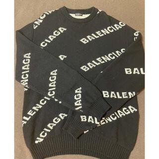 Balenciaga - バレンシアガ ロゴ スウェット セーター
