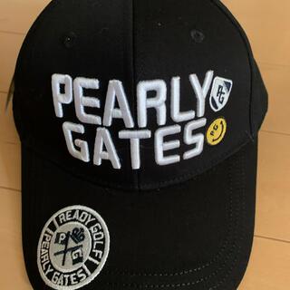 PEARLY GATES - ☆新品☆ パーリーゲイツ ゴルフ キャップ 黒 男女兼用