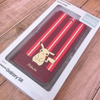 ポケモン(ポケモン)のラス1 ポケモン Galaxy S8 専用 スマホケース POKE573A(Androidケース)