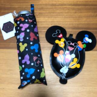 ディズニー(Disney)の折りたたみ傘 エコバッグ TDR ディズニー 30周年 ミッキー(傘)