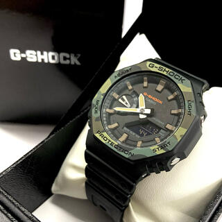 CASIO - G-SHOCK GA-2100SU ジーショック 本体 カモ 迷彩 腕時計