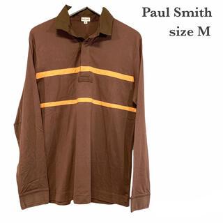 ポールスミス(Paul Smith)の良品 ポールスミス 長袖 ポロシャツ ボーダー Paul Smith(ポロシャツ)