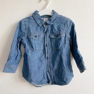 ベビーギャップ(babyGAP)のデニムシャツ*90cm*baby GAP*ベビーギャップ(ブラウス)