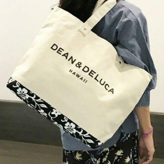 DEAN & DELUCA - 新品タグ付きDEAN&DELUCA キャンバストートバックハワイ限定モデル