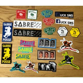 セイバー(SABRE)の非売品SABREステッカー23枚セット(サングラス/メガネ)