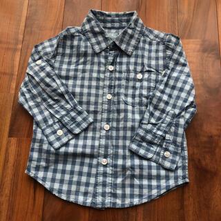 ベビーギャップ(babyGAP)のbaby Gap チェックシャツ 110(ブラウス)