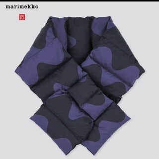 マリメッコ(marimekko)のUNIQLO x MARIMEKKO ダウンマフラー(マフラー/ショール)