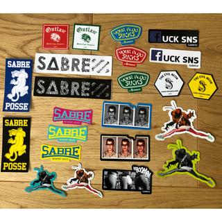 セイバー(SABRE)の非売品 SABRE ステッカー23枚セット(サングラス/メガネ)