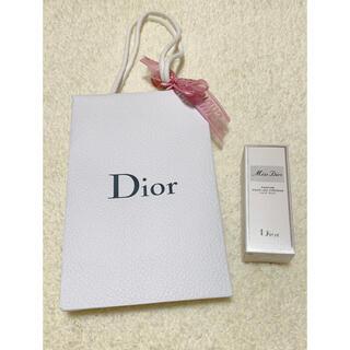 ディオール(Dior)のミスディオール ヘアミスト 新品 DIOR (ヘアウォーター/ヘアミスト)