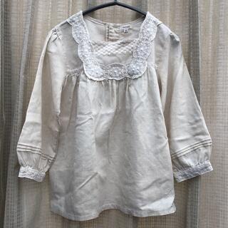Seraph - アイボリー ブラウス カットソー 140 Seraph セラフ 女の子 長袖
