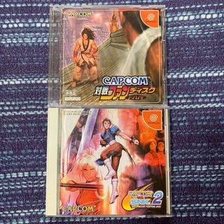 CAPCOM - CAPCOM VS. SNK 2  初回特典 CAPCOM対戦ファンディスク