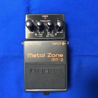 ボス(BOSS)のBOSS エフェクター Metal Zone MT-2(エフェクター)