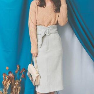 ノエラ(Noela)のスエードタイトスカート(ひざ丈スカート)