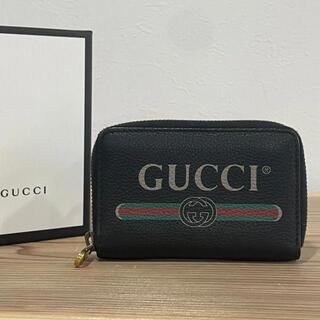 グッチ(Gucci)のGUCCI グッチ コインケース グッチロゴ グッチプリント(コインケース/小銭入れ)