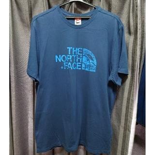 THE NORTH FACE - ノースフェイス Tシャツ ネイビーLサイズ
