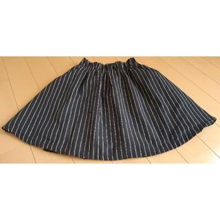 ローリーズファーム(LOWRYS FARM)のLOWRYSFARMストライプスカートサイズフリー(ひざ丈スカート)
